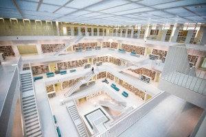 Librería en Stuttgart (Alemania)