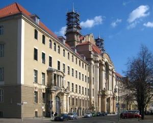 Fachada del Tribunal Regional de Berlin