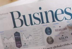 Periódico especializado en economía y negocios